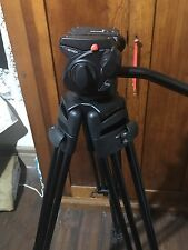 Manfrotto 501 HDV PRO VIDEO HEAD WITH 525 MVB 2 STAGE PRO VIDEO TRIPOD