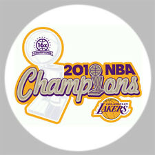 Golf/ 2010 L.A. Lakers Nba Chamipons Golf Ball Marker/with Magnet Hat Clip New!