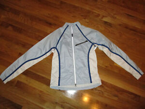 Women's Cannondale Light Blue White Cycling Jacket Size Small