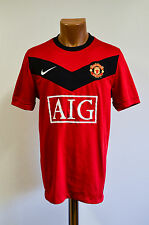 MANCHESTER UNITED SIZE M 2009/2010 HOME FOOTBALL SHIRT JERSEY NIKE