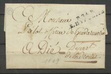1809 Lettre Marque Linéaire P24P S.Hypolite DOUBS(24) Indice 19 X2317
