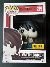 FUNKO POP ANIMATION SERIES L (with Cake) SHONEN JUMP DEATH NOTE HOT TOPIC EXCL