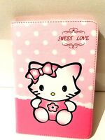 Funda Cover Libro para Tableta eBooks MINI IPAD 7,9 PULGADAS HELLO KITTY