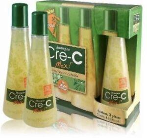 1 Bottle Shampoo Cre-C Max ORIGINAL Crece Hair loss perdida de cabello
