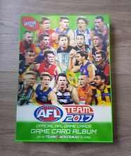 2017 AFL TEAMCOACH TEAM COACH 234 COMMON CARD FULL SET & ALBUM FOLDER ALL TEAMS