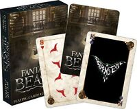 FANTASTIC BEASTS - PLAYING CARD DECK - 52 CARDS NEW - HARRY POTTER MOVIE 52427