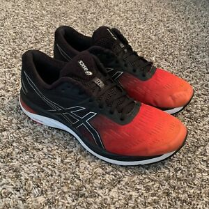 ASICS Gel-Cumulus 20 SP Men's running fitness shoes Red Orange Black Fade Lyte