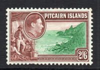 Pitcairn Islands 2/6 Stamp c1940-51 Mounted Mint (1677)
