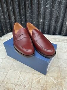 Pakeman Catto & Carter Brown Leather Loafer SIZE 12