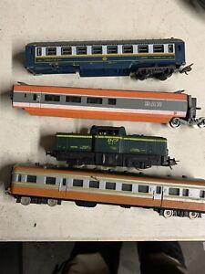 Tarin Locomotive Avec Wagons Lima