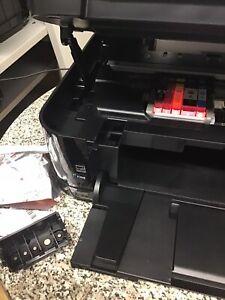 ANGEBOT: Drucker geprüft, getestet: MG 5150 druckt aber nur in Farbe.