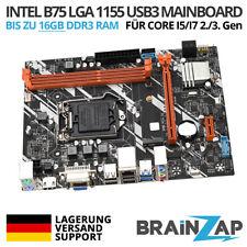 Intel B75 Sockel LGA 1155 Mainboard Motherboard USB 3.0 M.2 Core i5/i7 2./3. GEN