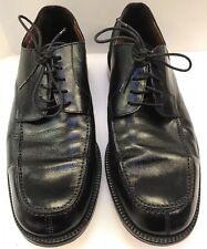 Brass Boot Split Toe Oxfords Shoes Black Leather Spain Made Men's 10.5 D 93773