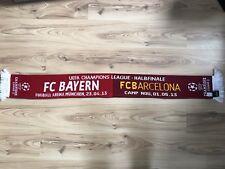 FC Bayern München FC Barcelona Schal Champions League Halbfinale 2013