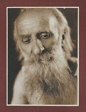 VINT.1925 Bärtiger Mann*Portraitstudie*GRAPHISCHE WIEN