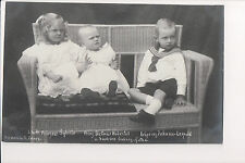 Vintage Postcard Princess Sibylla of Saxe-Coburg and Gotha & Brothers