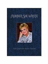 Murder She Wrote Season Nine DVD Boxed Set Repackaged Snap C