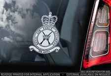 Royal Air Force - Car Window Sticker - RAF Regiment Crest Sign Logo Badge - V01