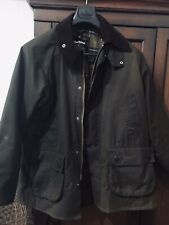 Barbour Classic Bedale Size 42 Waxed Cotton Jacket Used. Perfect condition