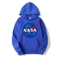 NEW Pullover BIG NASA LOGO Coat Jumper Sweats Sweatshirt Outwear Men's Hoodie