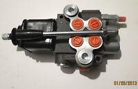 Hydraulik Handsteuerventil  2-fach 50 L  /  Joystick / 2 x doppelwirkend