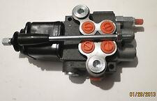 Idraulica Valvola di regolazione manuale Joystic 2 porte 50L/J 1 x Facile 1 dopp
