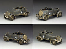 KING AND COUNTRY German Adler Kfz. 13 Armoured Car WW2 WSS246 WS246