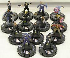 Heroclix Capitan America The Winter Soldier-set completo #001 - #012 + #017 Chase