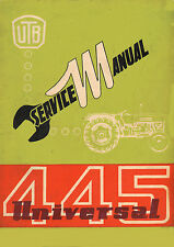 Universal 445 Tractor Workshop Service Manual Book