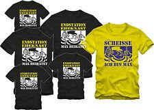 JGA T-Shirts   ENDSTATION EHEKNAST Shirts für die ganze Gruppe JGA SET