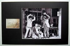 THE THREE 3 STOOGES Matted 11x17 Photo Display w/ Signed Replica CURLY FOR SALE