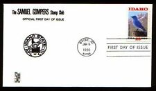 Samuel Gompers Sc. 2439 - Idaho Statehood