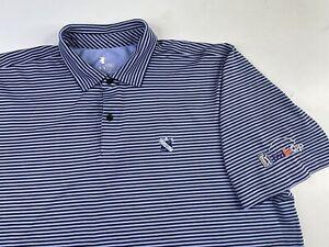 Northern Trust Ridgewood CC FedEx Cup PGA Striped Polo Golf Shirt Playoffs 2XL