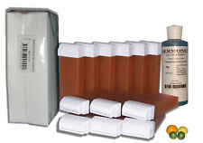 REASSORTIMENT EPILATION - 12 x 100 ml CIRE A EPILER ROLL ON + BANDES + HUILE