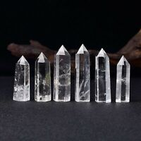 Clear Crystal Quartz Obelisk Tower Healing Crystal Points By MarkaJewelry