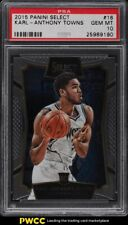 2015 Panini Select Karl-Anthony Towns ROOKIE RC #16 PSA 10 GEM MINT
