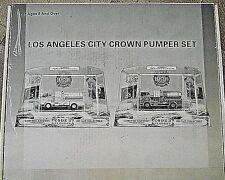 CODE 3 #12951 LOS ANGELES CROWN PUMPER SET OF 2 IN NEVER OPENED, SEALED BOX...