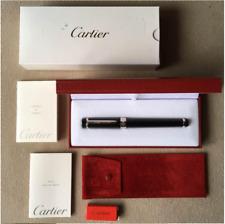 CARTIER Fountain Pen PASHA DE CARTIER Type/M 18K with Case Box Good Vtg Gift