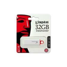 Kingston DataTraveler G4 DTIG4/32 GB - Memoria USB 3.0, 32 GB, Color Blanco/Rojo