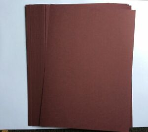 A4 Size Burgundy Card 25 Sheets. Approx 250gsm.