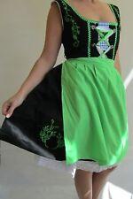 Dirndl 2tlg Midi Trachten Kleid Gr. 146 152 158 XS 32 Oktoberfest Mandy grün 32
