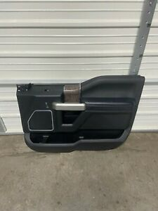 2015-2020 FORD F150 F250 F350 BLACK CREW CAB PASSENGER FRONT DOOR PANEL 2017