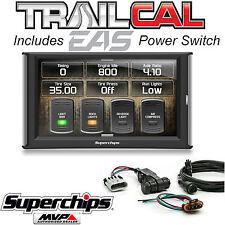 Superchips TrailCal 41051 Programmer & Power Switch for 15 16 Jeep Wrangler JK