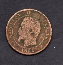 FRANCE 10 CENTIMES NAPOLEON III 1855