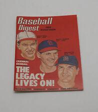 1984 Baseball Digest Annual Guide~Dizzy Dean Ken Boyer