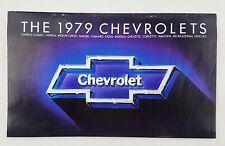 1979 Chevrolet Models Brochure Pamphlet Catalog Corvett Camaro Nova Malibu other