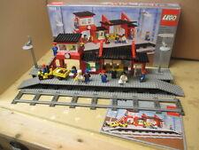 Lego® 7824 Bahnhof 12V Eisenbahn von 1983, Modell gut erhalten, OVP und BA