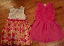 Lot Of 2 Healthtex Girls Size 4 Dresses