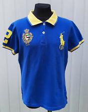 Ralph Lauren Kids Blue Polo Shirt Short Sleeve Kids Size XL