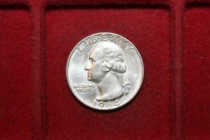USA ¼ Quarter Dollar 1964 D Denver George Washington Silber 900 6,25g st (3)